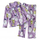 Carter's Snowman Fleece Pajama Set Girls Sz 5 Pajama Set 2 Pc $32.00 NEW