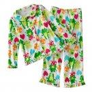 Carter's Frog Fleece Pajama Set Girls Sz 4 Pajama Set 2 Pc $36.00 NEW
