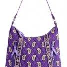 Vera Bradley Purse Handbag Small Lisa B Simply Violet $63 NEW