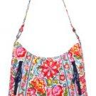 Vera Bradley Purse Handbag Small Lisa B Hope Garden $63 NEW