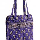 Vera Bradley Purse Handbag Shoulder Bag Perfect Pocket Tote Simply Violet $62 NEW
