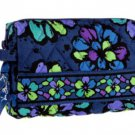 Vera Bradley Small Cosmetic Case in Indigo Pop $22 NEW