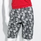 Mens Authentic Icon Flat Front Paisley Shorts Size 34 NEW $58