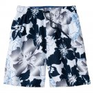 Mens Extra Large or XL Wave Rock Swim Trunks or Suit by Croft & Barrow NEW $40.00