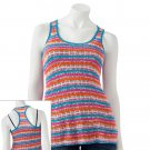 NEW Say What Juniors Fuchsia Extra Large Striped Crochet Racerback Tank Top by Say What $36.00