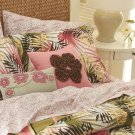 NEW Set of 4 Square and Rectangular Pillows PINKs Havana Jacks Cafe Coco Beach $190 NEW