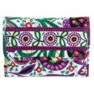 Vera Bradley Euro Wallet Billfold Viva la Vera Billfold $27 NEW