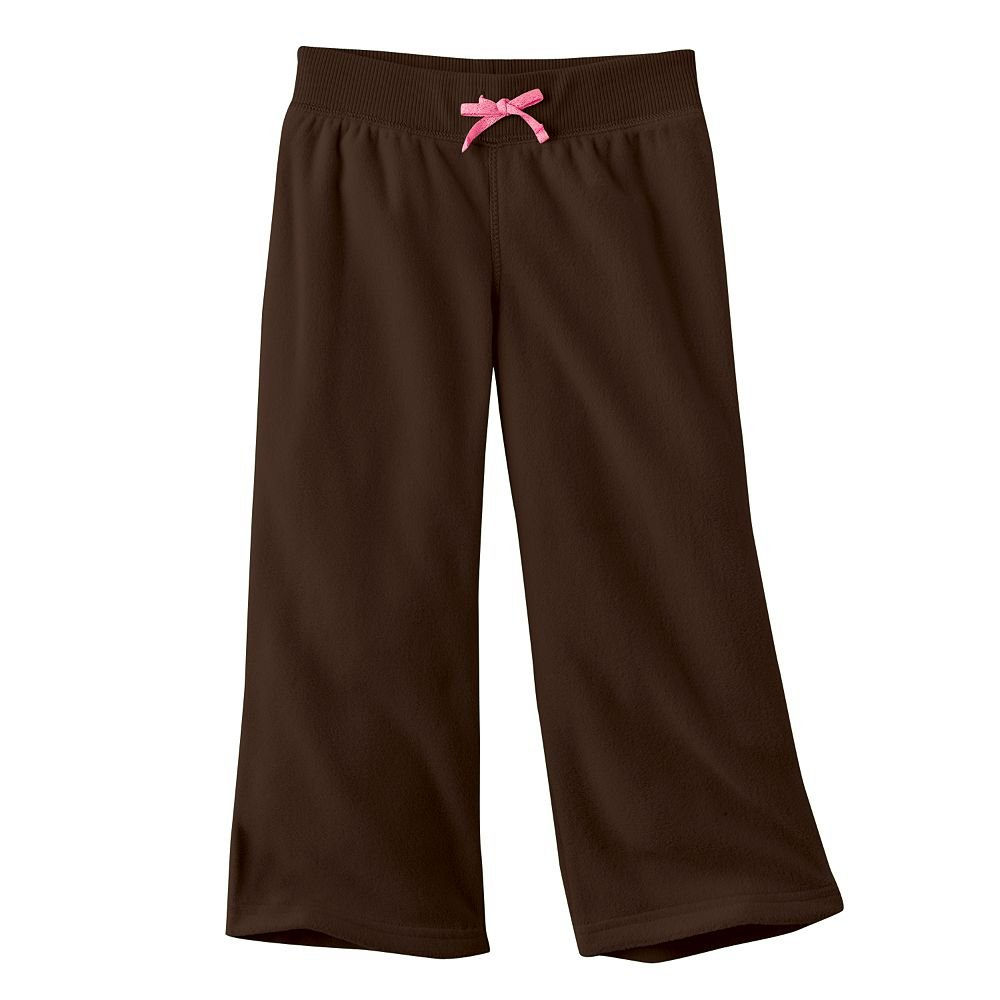 NEW Jumping Beans Solid Brown Microfleece Pants Baby Size 24 Months NEW
