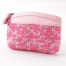 JLo Jennifer Lopez Breast Cancer Awareness Make Up Cosmetic Bag Geometric New