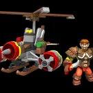 Mega Blocks World of Warcraft Flying Machine 91018 90 Piece Build Set NEW