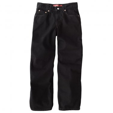 Levis Black Magic 550 Relaxed Fit Jeans Boys Size 12 Jeans NEW $38.00