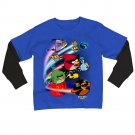 NEW Boys Angry Bird Space Mock-Layer Tee Long Sleeves $24.00 XL