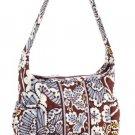 Vera Bradley Sophie Purse Handbag in Slate Blooms 11607-062 $44