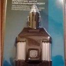 CE E TECH 12V 100W Power Inverter + USB Charging Port 115V AC Outlet