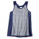 NEW Girls Striped Tank Top by UnionBay BLUE Size XL Extra Large 14 $28