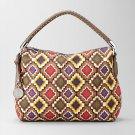 Relic Camden Geometric Satchel Large Size Purse Handbag Relic Satchel Bag NEW