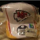 New  Official Sideline Headwear Baseball Hat by Reebok - Kansas City Chiefs Flex Fit Hat L/XL