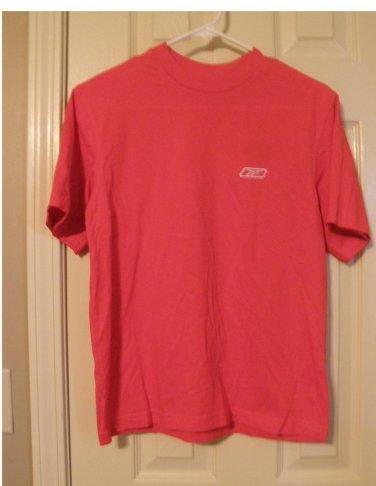 Reebok Boys T-Shirt T Shirt Top Solid Red Tagless Medium NEW