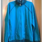 NEW NEW YORK LAUNDRY Zipper Performance Jacket - Medium - Turquoise Brown