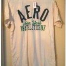 Aeropostale New York Athletics 1987 T-Shirt Tee Opal Size Medium Mens Teens Boys NEW