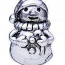 NEW PUGSTER Snowman European Style Bead Silver $19