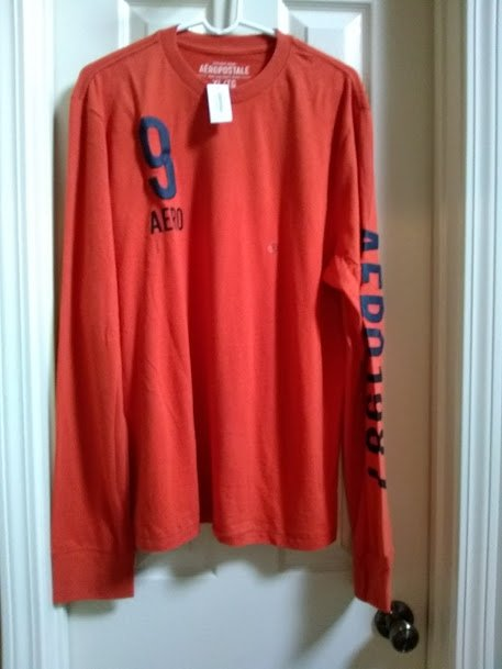Aeropostale Long Sleeve Graphic Tee T Shirt Size Xl Extra