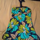 NEW Size 6 Islander Brand Bust Enhancer Tankini Top Tropical Floral Print