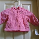 OshKosh B'Gosh Infant Baby Jacket Pink Hooded Coat 6/9 Months