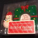 NOS 2006 Child of Mine Photo Frame & Ornament Set Snowman + Gift Frame Cute