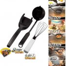 NEW in Package ASoTV Set Grip n Flip + Scoop n Strain + 6 in 1 Kitchen Utensil