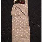 New Pair Socks in the City Dot Gray Knee High Socks Casual Socks NEW