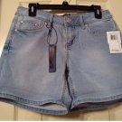 NEW Size 4 Womens Medium Wash Medium Rise Knit Denim Jeans Shorts by Seven 7 $49.00 NEW