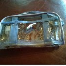 NOS JAFRA Travel Small Cosmetic Handled Bag Clear See-Through Versatile Sturdy
