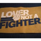 NEW Welcome or Floor Mat - Lover Not a Fighter Statement 18 x 30 Inches