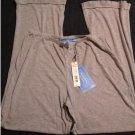 NEW Vera Wang Lounge Sleep Pants Elastic Waist Pajama Bottoms Gray Medium