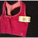 NEW Small Champion Double Dry Women's Seamless Reversible Sports Bra # 2961 Berry Blast