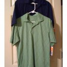 Champion C9 Duo Dry Lot of 2 Solid Polo Shirt Shirts Mens Sz Small  with TAGS Navy Green