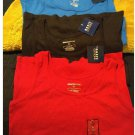 Lot of 3 New Layering Stretch Ribbed Tank Top Tops Basic Editions Womens Small NEW