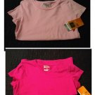NEW Lot of 2 Womens SMALL Pink & Fuchsia Duo Dry Work-Out Tees by Champion C9 Long and Lean Fit