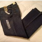 NEW Womens Stretch Flaire Jeans from Faded Glory Below Waist 4 Petite Antique Color