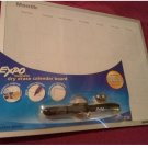 New Expo Magnetic Dry Erase Calendar Board # 70473 11 x 14 Inches with Marker