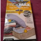 NEW The Original Packmax Compression Bags - Value Pack - 1 Medium + 2 Large + 1 X-large Air Tight