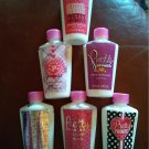 NEW SEALED Lot of 6 Body or Hand Lotions by Pretty Promise - 6 Different Scents - 4 Ounces Each NEW