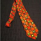 NEW Holiday or Christmas Neck Tie Keith Daniels Colorblock Men's Neck Tie Red