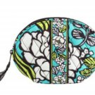 Vera Bradley Mirror Cosmetic Bag Island Blooms Pattern $34 NEW