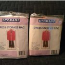 NEW Lot of 2 Dress Storage Bags - Storage Essentials Brand - Protection in Closets