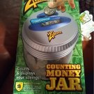 NEW Zillionz Electronic Money Jar in Box Age 4 and Up Counts Displays Savings