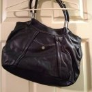 Worthington MICA Shopper in Black Large Size Purse Handbag Faux Leather Satchel Bag NEW