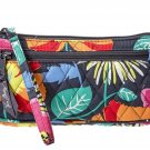 Vera Bradley Authentic Wristlet Clutch Bag 14558-138 Jazzy Blooms Pattern RETIRED NEW