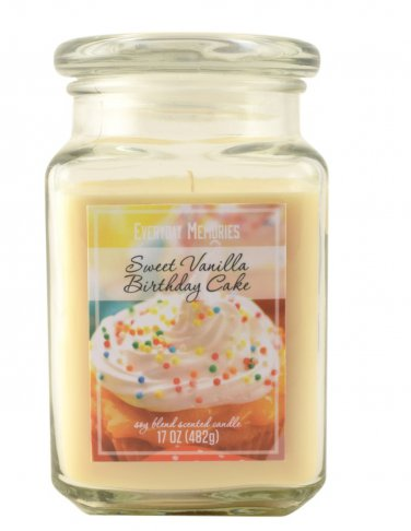 Prime New Everyday Memories Jar Candle Large 17 Oz Sweet Vanilla Funny Birthday Cards Online Inifofree Goldxyz